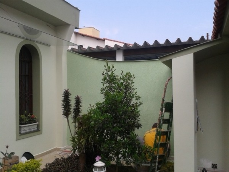 Servi o de pintura em resid ncias fec pinturas - Pintura para fachada ...