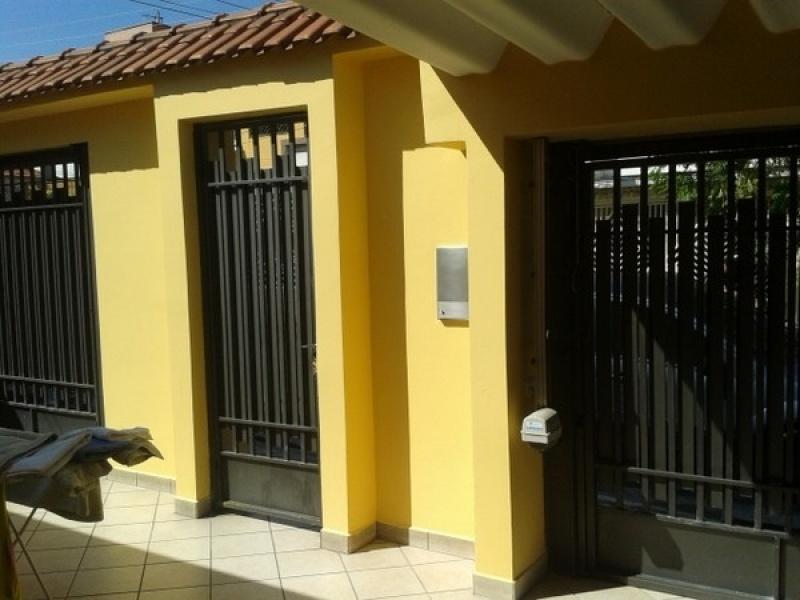 Servi o de pintura de fachada de casas fec pinturas - Pintura fachadas de casas ...