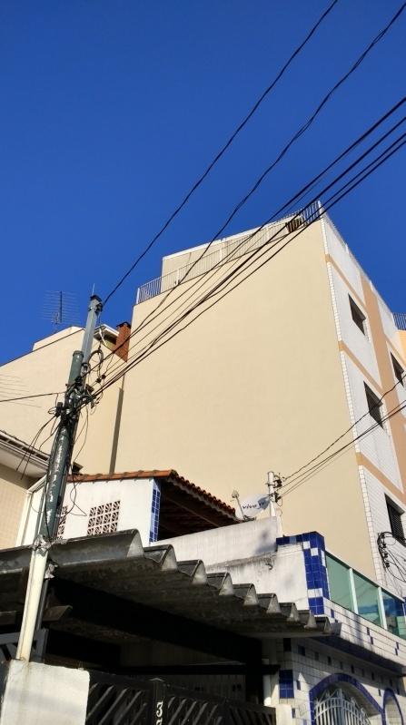 Pintura de Fachada de Condomínio na República - Pintura Rápida em Edifícios