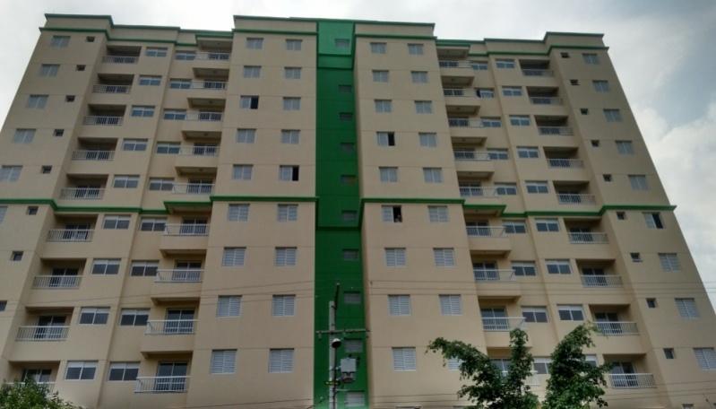 Pintura de Fachadas Residenciais Preço Vila Scarpelli - Pintura de Edifícios