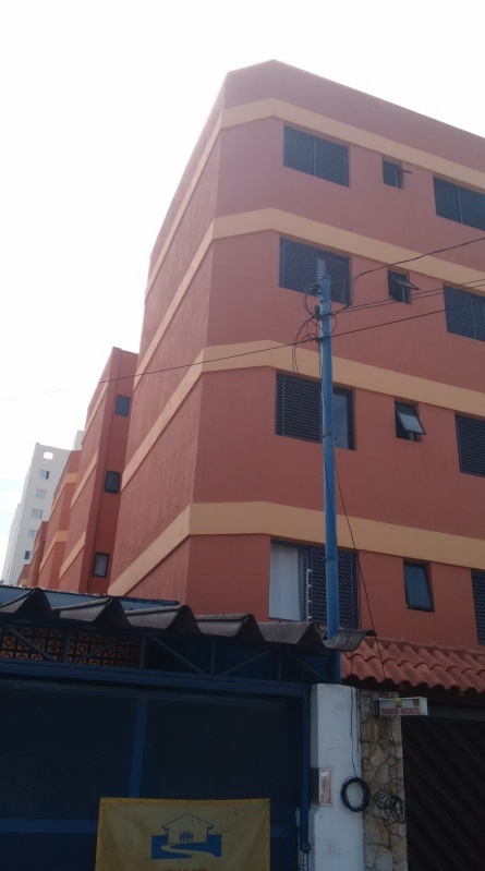 Pintura em Edificações Comerciais na Vila Linda - Pintura para Fachadas de Edifícios Altos