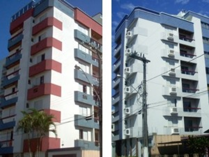 Serviços de Pintura de Fachada de Prédio na Vila Bastos - Serviço de Pintura Predial em Sp