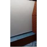 impermeabilização para paredes na Vila Dora