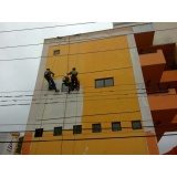 pintura de fachada de edifício na Boa Vista