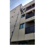pintura de fachada para edifícios comercial preço na Vila Bastos