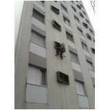 pintura para fachada de edifícios residenciais  preço na Vila Linda