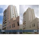 quanto custa pintura de fachada de edifício no Campanário