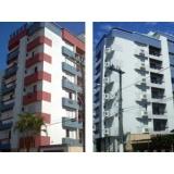 serviço de pintura de fachada de prédio