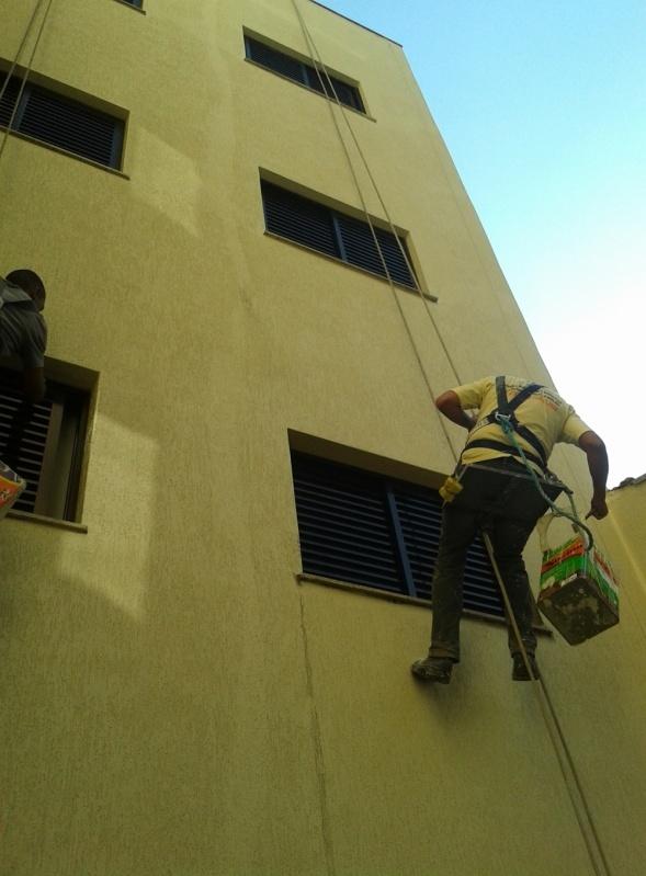 Empresa de Pintura na Parede de Edifício na Nova Mauá - Pintura Rápida em Edifícios