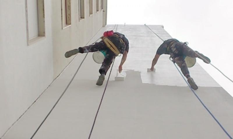 Empresa de Pintura para Fachadas de Edifícios Altos no Jardim Alzira Franco - Pintura Rápida em Edifícios