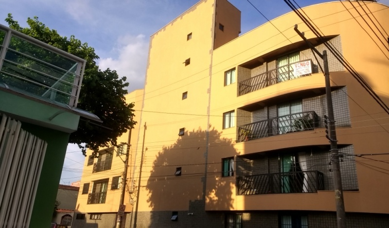 Pintura de Fachada de Condomínio Preço no Jardim Bom Pastor - Pintura em Prédio Residencial