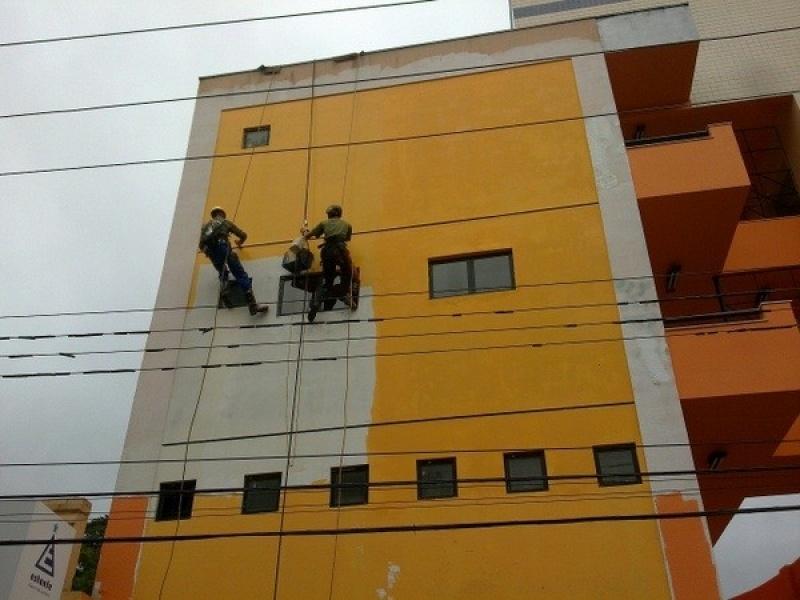 Pintura de Fachada de Edifício no Jardim Silvana - Pinturas em Prédios