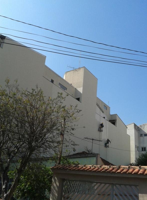 Pintura na Parede de Edifício Preço na Vila Bastos - Pintura na Parede de Prédio