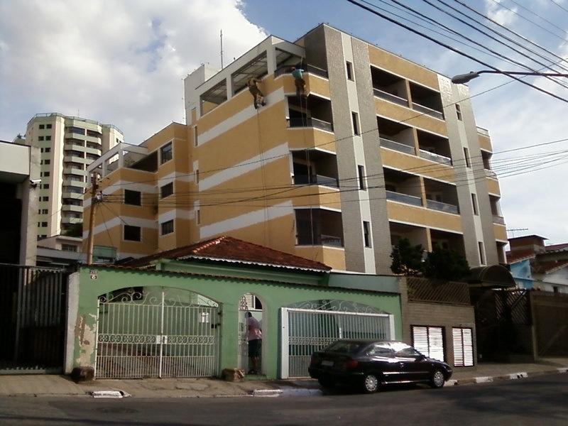 Pinturas em Edifícios Residenciais na Bairro Silveira - Pintura na Parede de Prédio