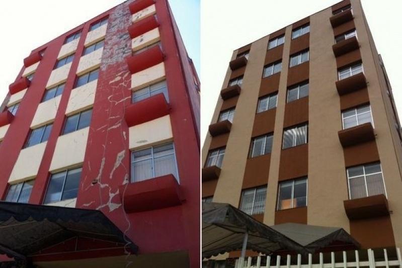 Serviço de Pintura de Fachada no Jardim São Luiz - Serviço de Pintura Predial em Sp