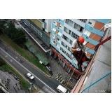 limpeza e pinturas de fachada no Parque Erasmo Assunção