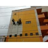 pintura de fachada de edifício no Jardim Silvana