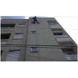 pintura em fachada de prédios preço no Centro