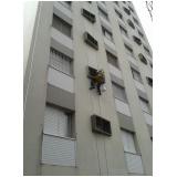 pintura para fachada de edifícios residenciais  preço no Jardim Renata