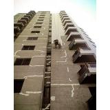 serviço de pintura de fachada de prédio em Guianazes