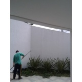 serviço de pintura externa de casas preço em Taboão